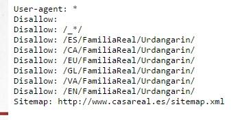 Como usar el archivo robots.txt